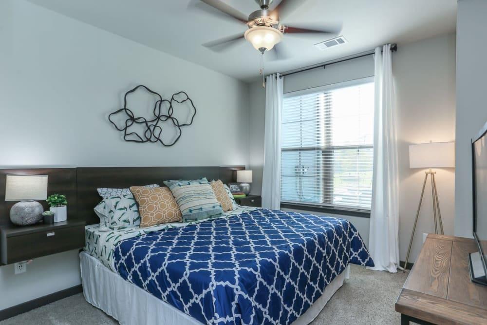 Master Bedroom at Springs at Cottonwood Creek Apartments