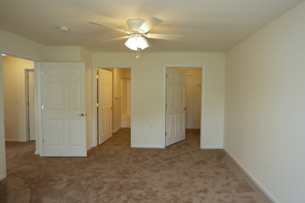 Carpeted apartment at The Ridge in Troy, New York