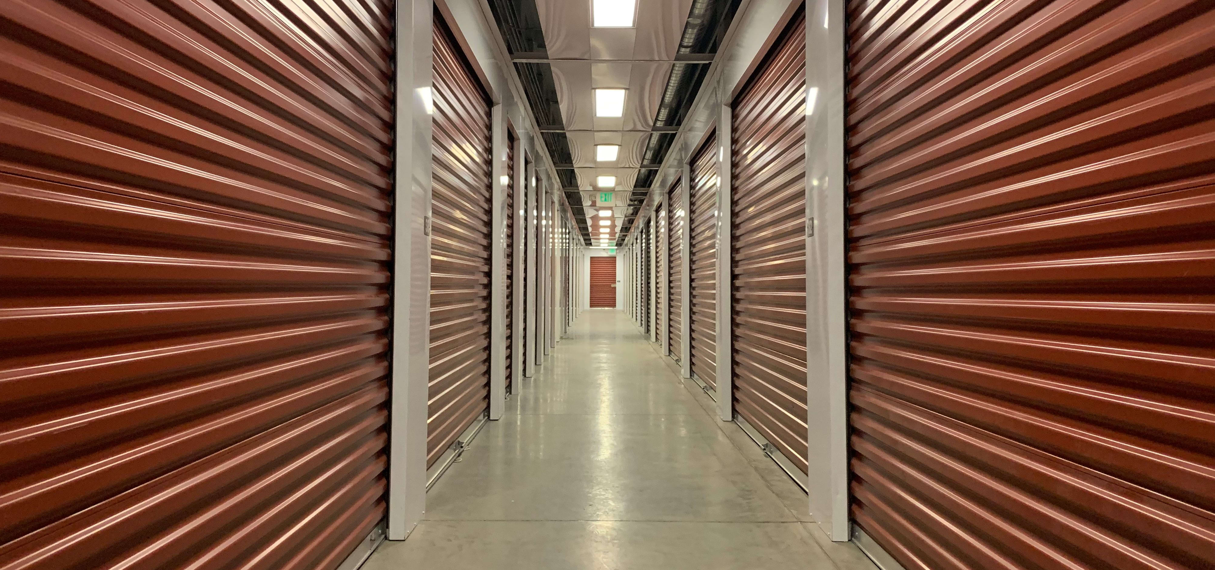 Self storage facility in Bluffdale has modern features