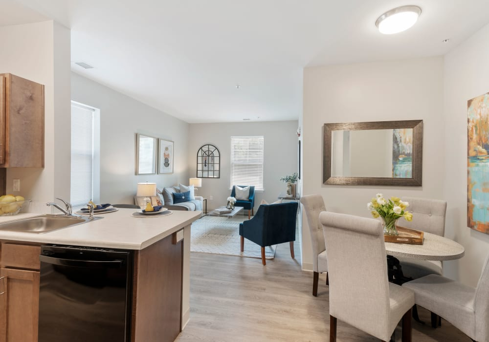 Learn more about the fabulous apartment features offered at The Apartments at Sharpe Square