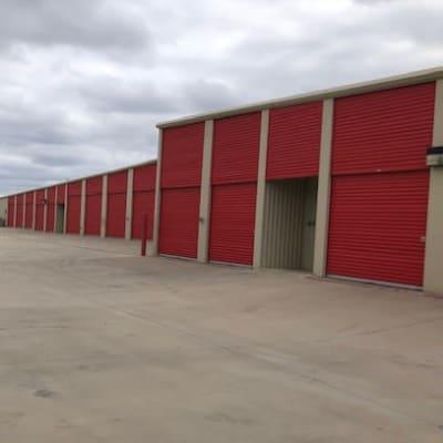 Outdoor units at Storage Star Laredo in Laredo, Texas