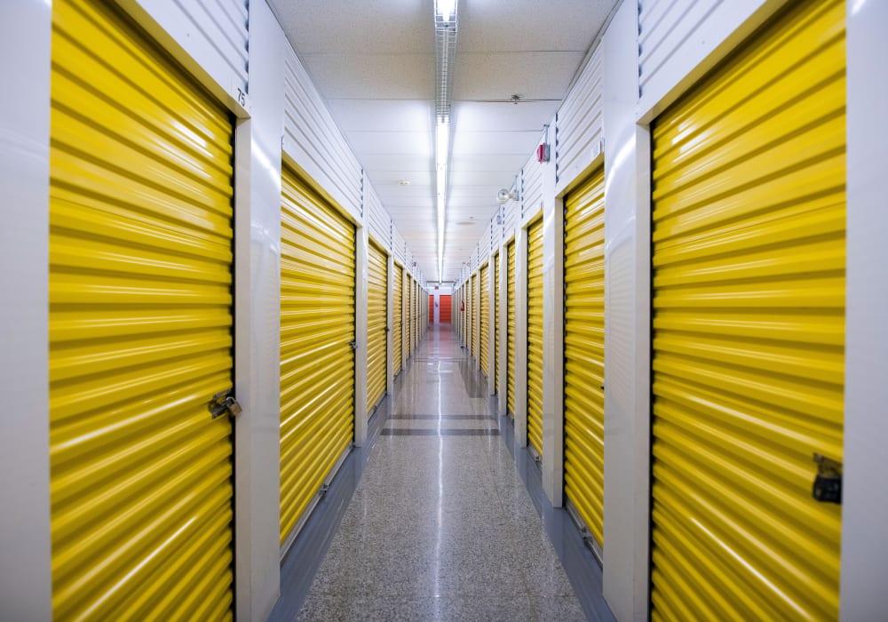 Weston Self Storage in Toronto, Ontario, interior units