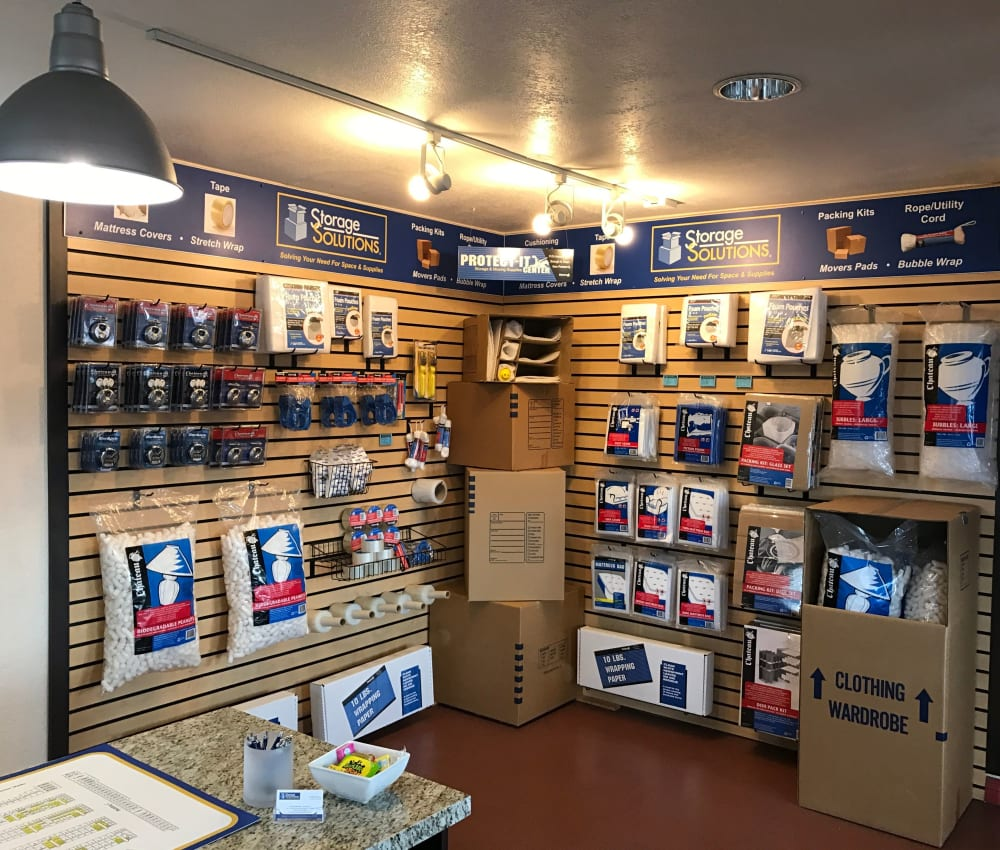 Storage Features at Storage Solutions in San Marcos, California