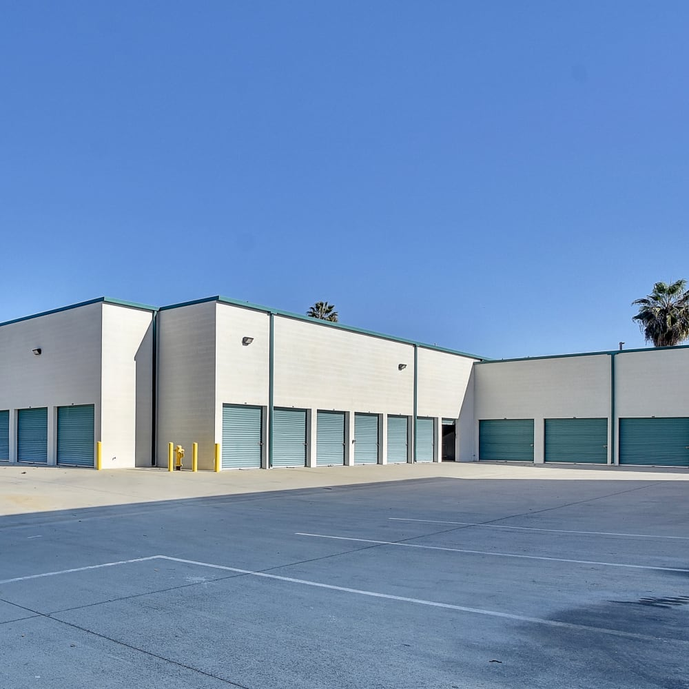 Exterior units at My Self Storage Space in West Covina, California
