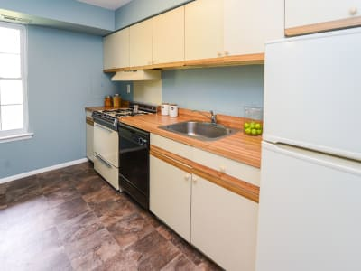 Our apartments in Lansdale, Pennsylvania have a naturally well-lit kitchen