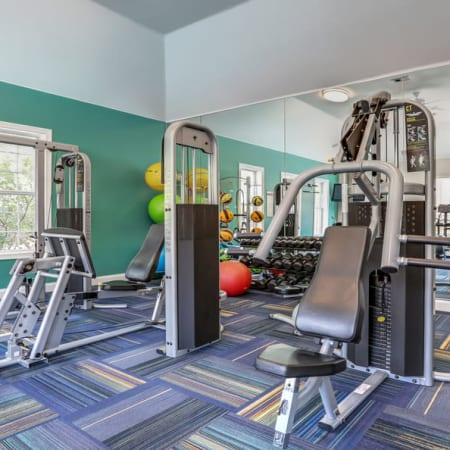 Skyecrest Apartments gym area