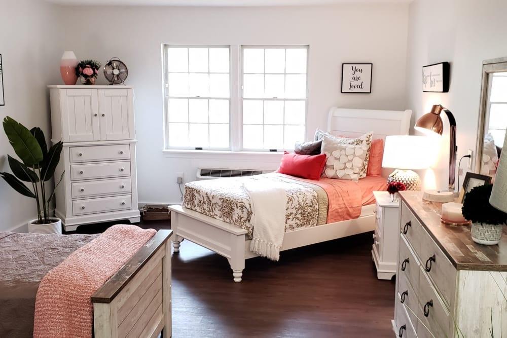 Enjoy a Bedroom at Wood Haven Senior Living Senior Living Community