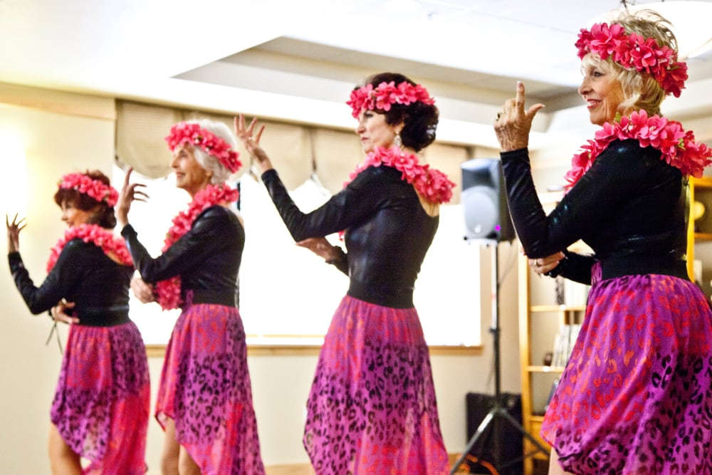 Luau Ladies at Bankers Hill