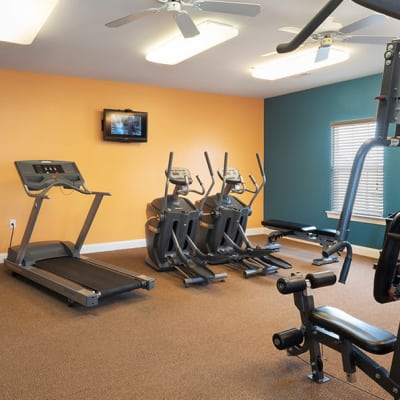 FitFitness center at apartments in Dover, Delaware
