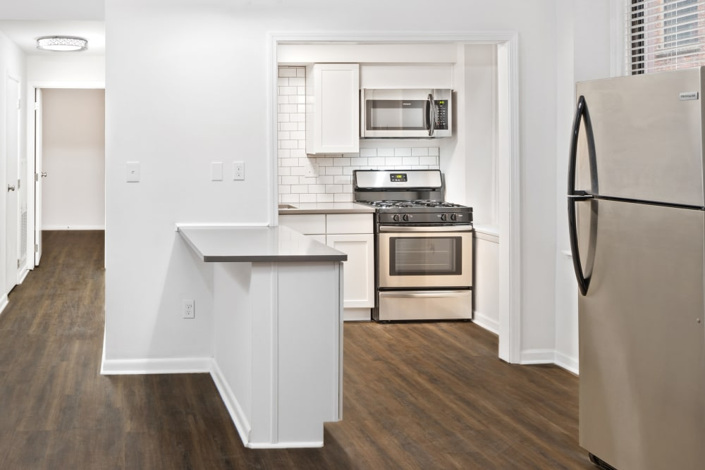 Spacious floor plans available at Live on 4th in Cincinnati, Ohio