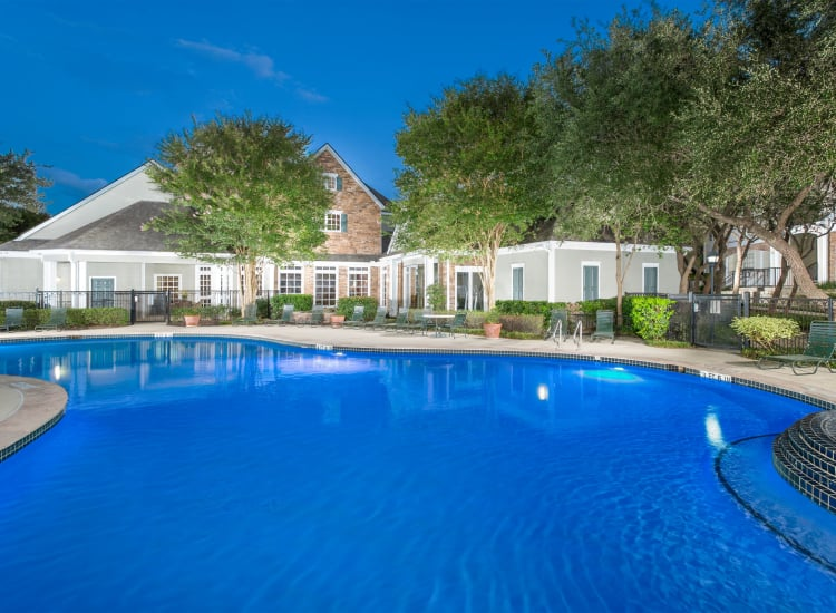 Swimming pool at The Lodge at Westover Hills in San Antonio, Texas