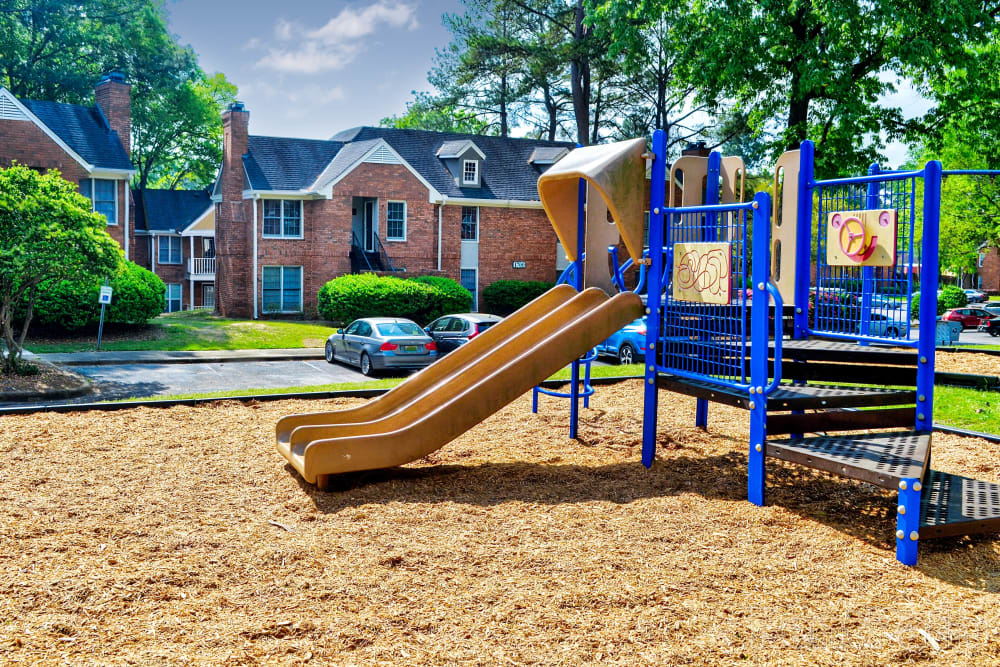 playground area at The Gatsby at Midtown in Montgomery, Alabama