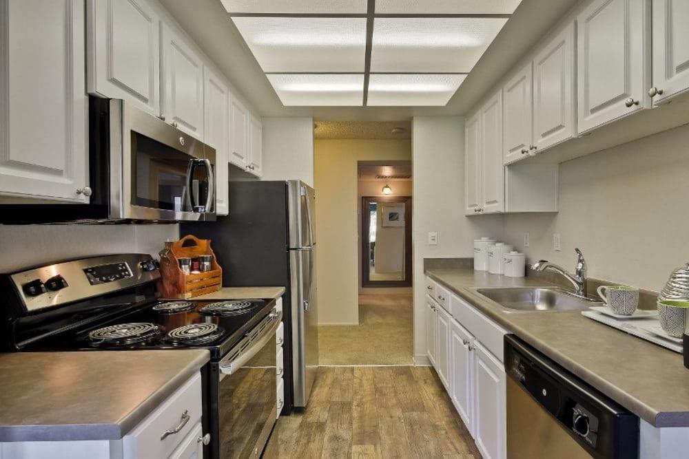 Kitchen at Terra Willow Glen in San Jose