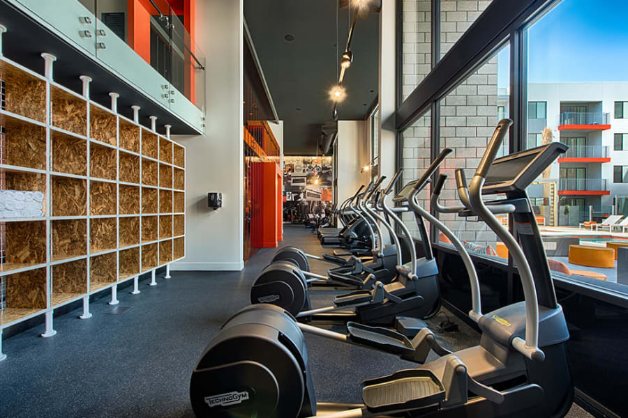 Luxury fitness center at The TOMSCOT in Scottsdale, Arizona