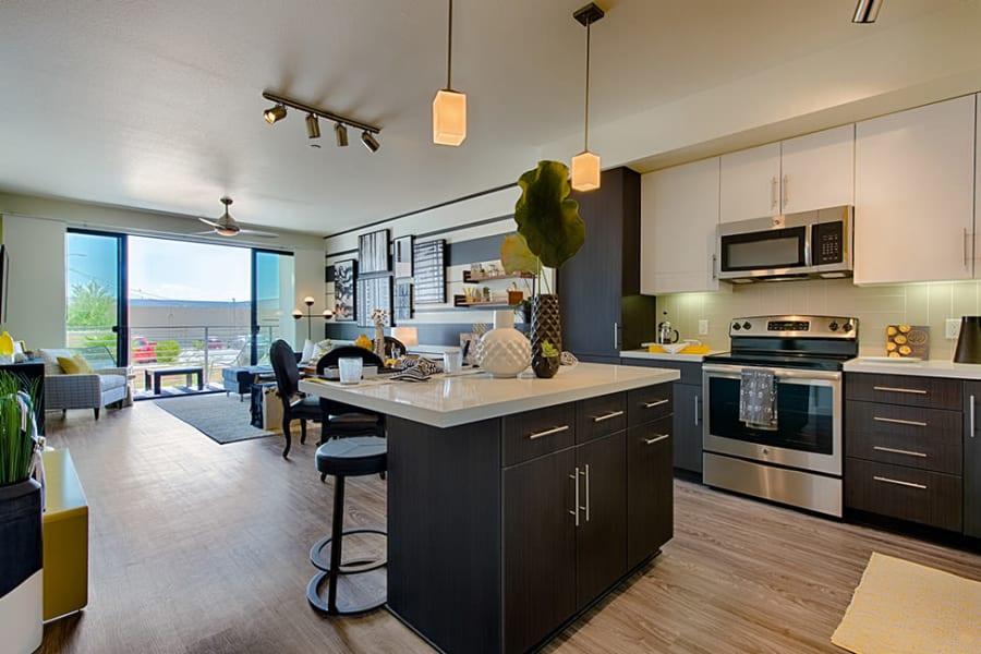 Luxury kitchen at The TOMSCOT in Scottsdale, Arizona