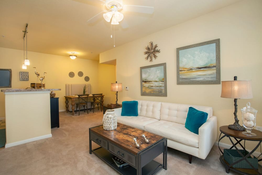 Well decorated apartment at Panther Effingham Parc Apartments in Rincon, Georgia