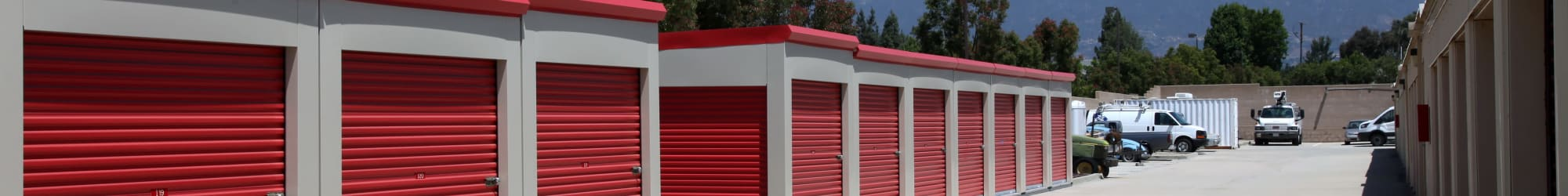 Trojan Storage units for rent in Rancho Cucamonga, California
