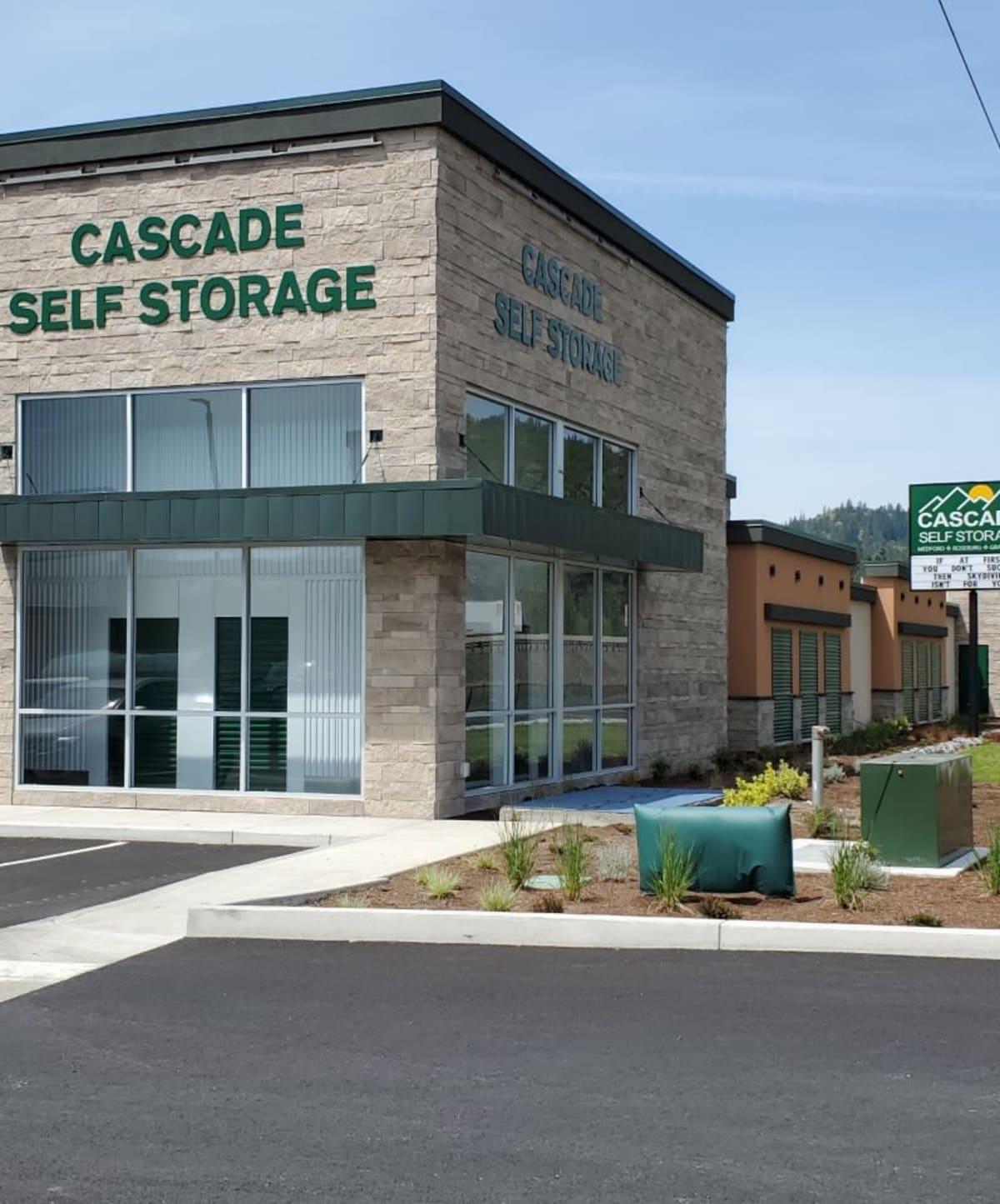 Cascade Self Storage in Grants Pass, Oregon