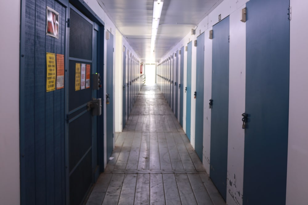 Hallway units at our storage facility on Sepulveda Boulevard in North Hills