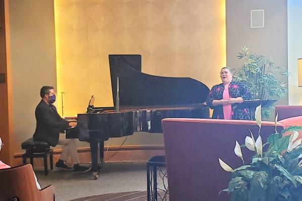 Signature Event with the Talented Mezzo-Soprano Diane Schoff