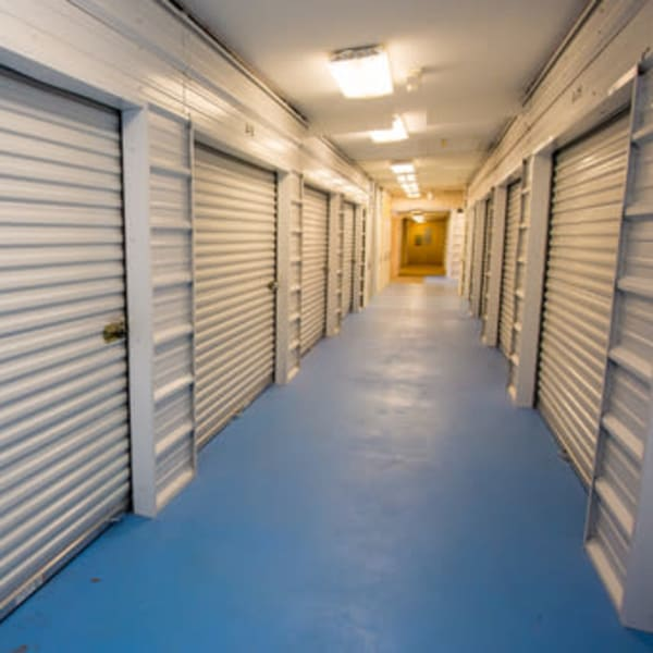 Indoor self storage units for rent at StayLock Storage in Hartsville, South Carolina