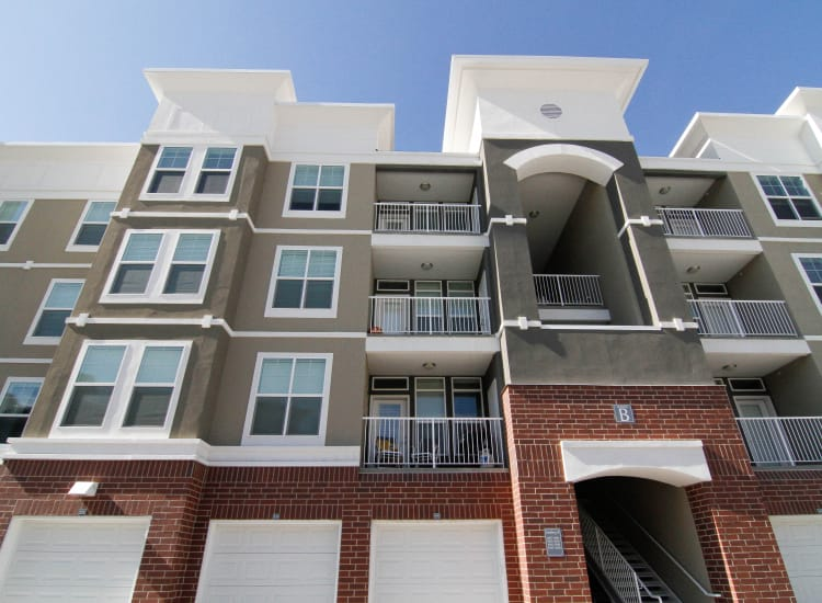 Apartment building at The Hills at Renaissance in Woods Cross