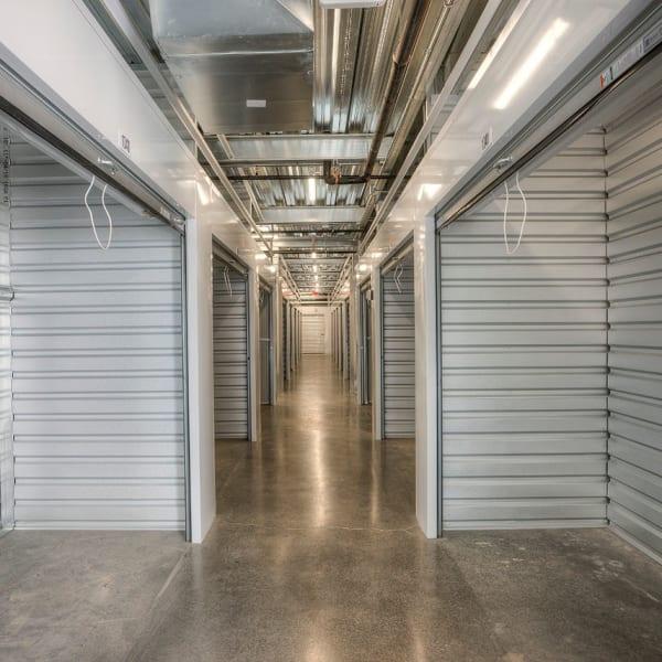 Open indoor units at StorQuest Self Storage in Scottsdale, Arizona