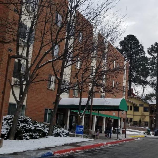 Exterior of Tamarin Square in Durango, Colorado