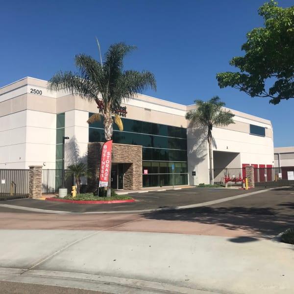 Exterior of StorQuest Self Storage in Carlsbad, California