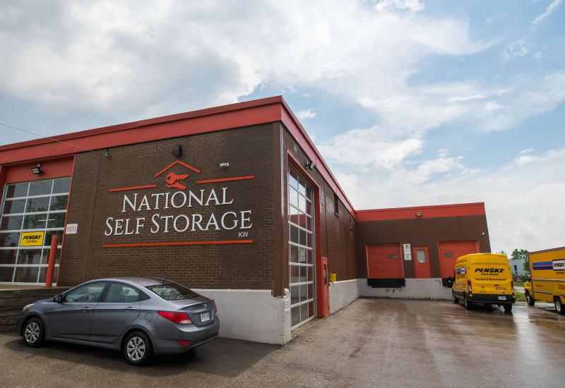 National Self Storage in Kitchener