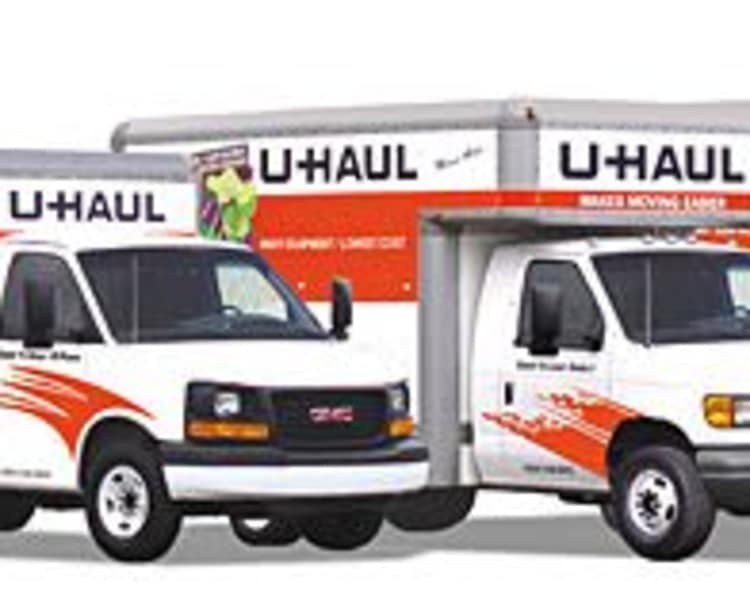 Moving truck rentals at All Weather Storage in Houston, Texas