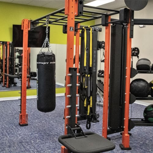 View virtual tour for the fitness center at Onyx Winter Park in Casselberry, Florida