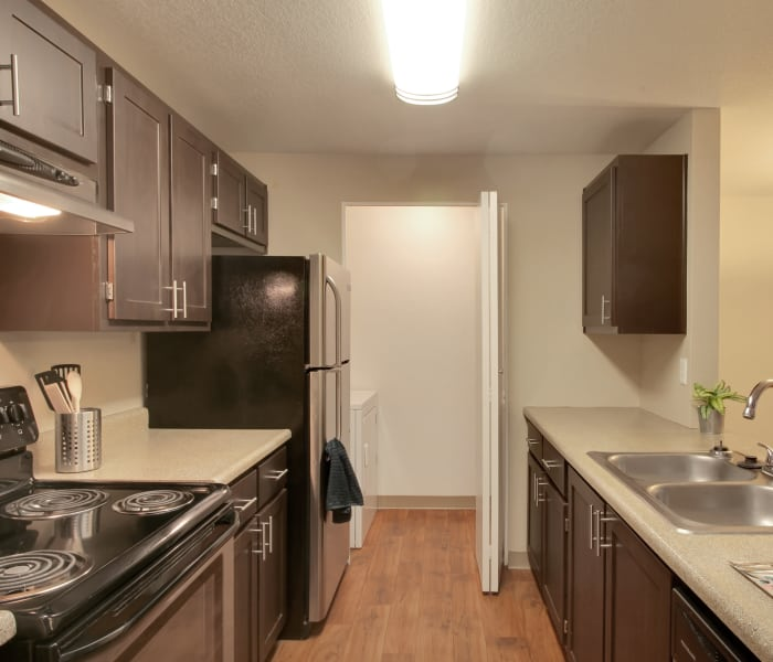 Open bedroom space at Preserve at Sunnyside Apartments in Clackamas, Oregon