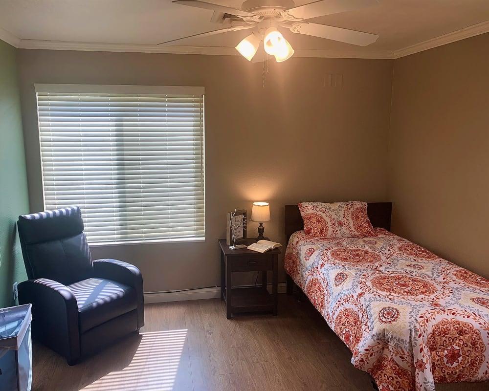 Bright bedroom suites available at Corridor Crossing Place in Cedar Rapids, Iowa.