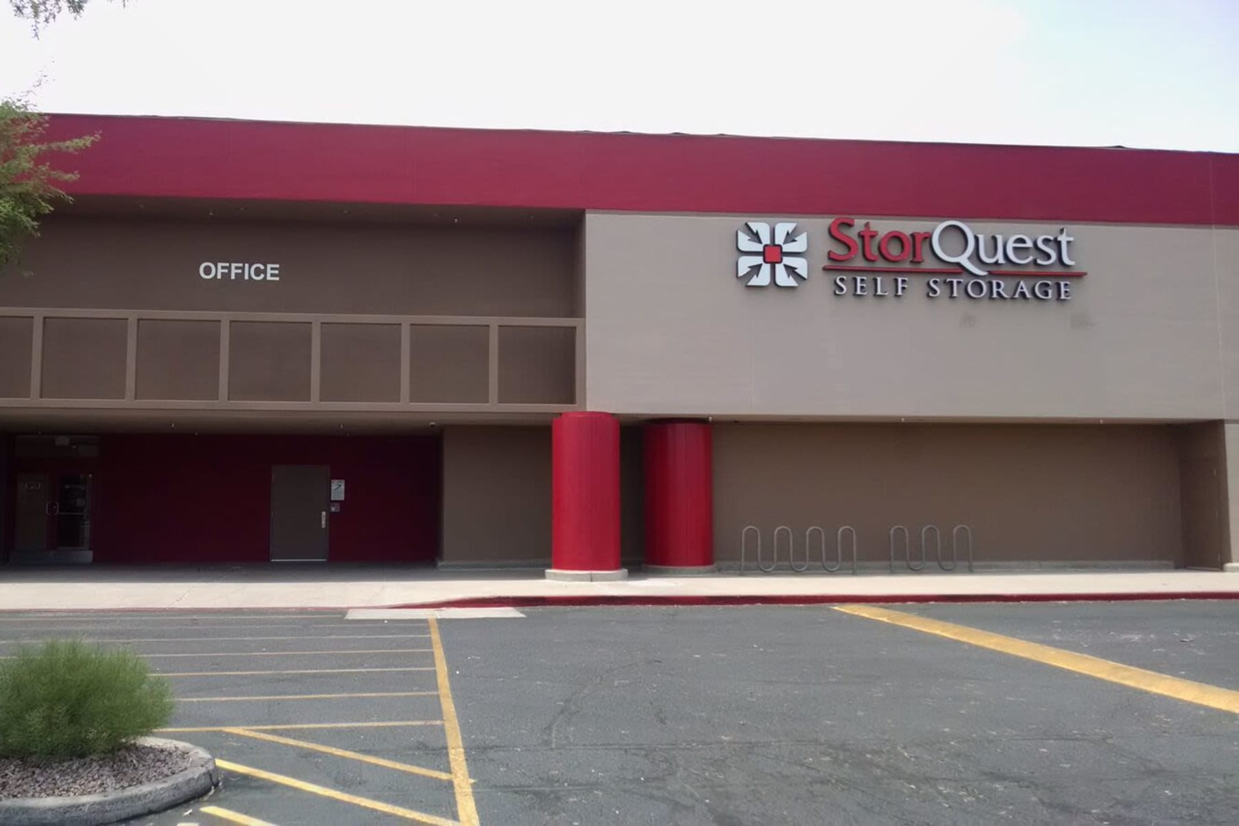 Rendering of StorQuest Self Storage in Chandler, Arizona