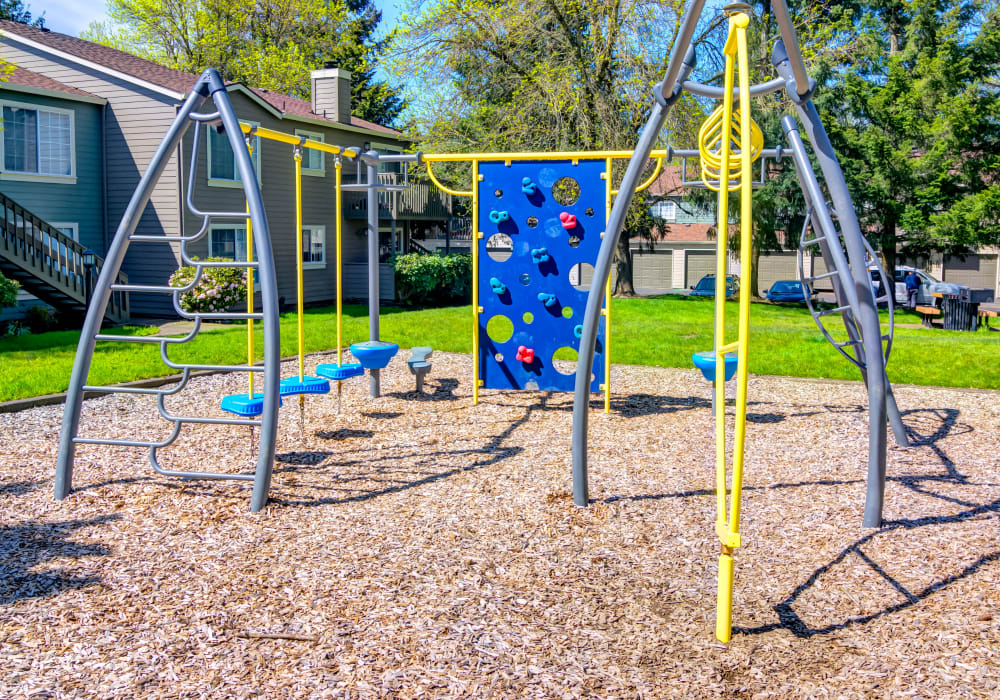 Onsite children's playground at Sofi at Murrayhill in Beaverton, Oregon