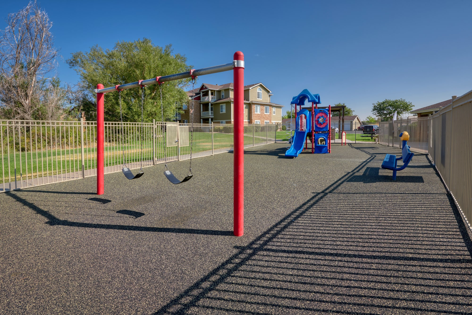 Playground at Westridge Apartments in Aurora, Colorado