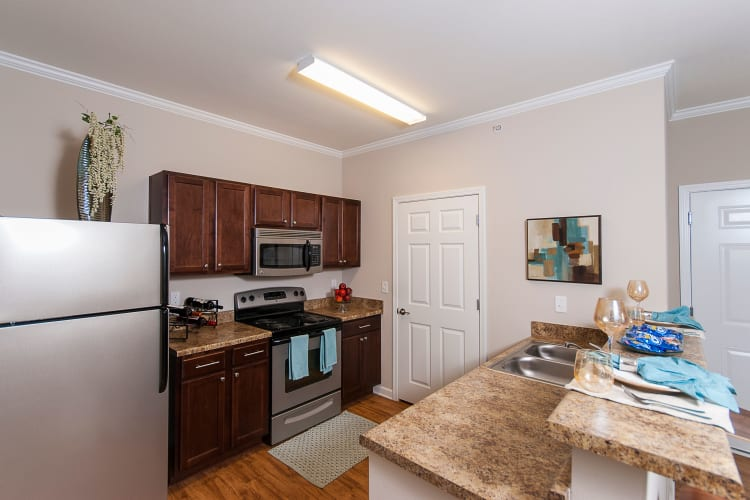 Apartment Features at Chenal Pointe at the Divide in Little Rock, Arkansas