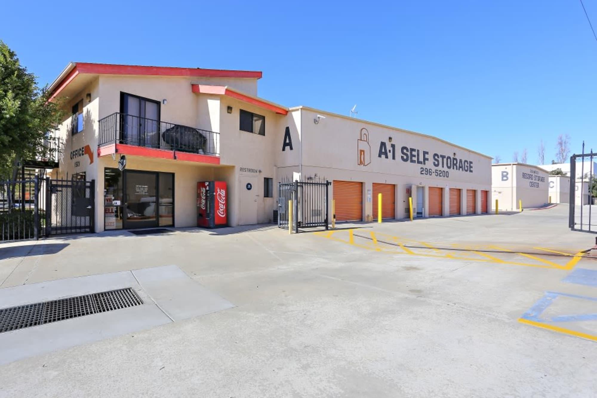 Best Storage Facility in A-1 Self Storage in San Diego, CA