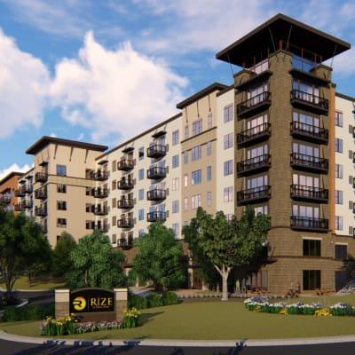 RiZE at Opus Park - LeCesse Development Corporation