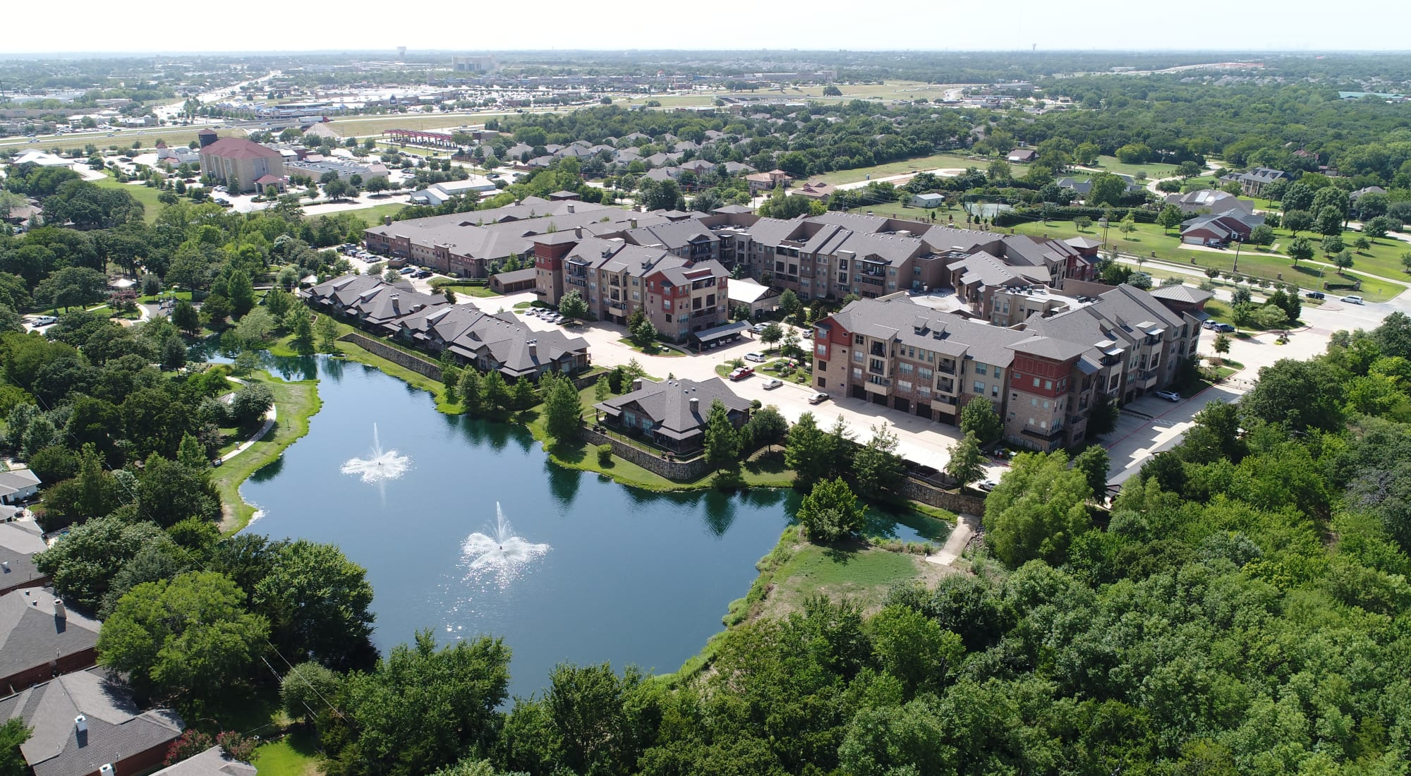 Senior living at Watercrest at Mansfield in Mansfield, Texas
