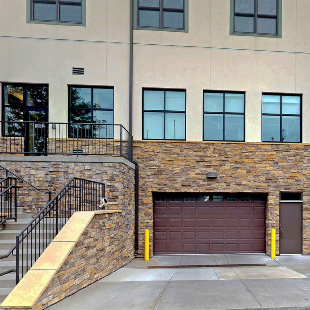 Secure underground parking available at Oaks Glen Lake in Minnetonka, Minnesota