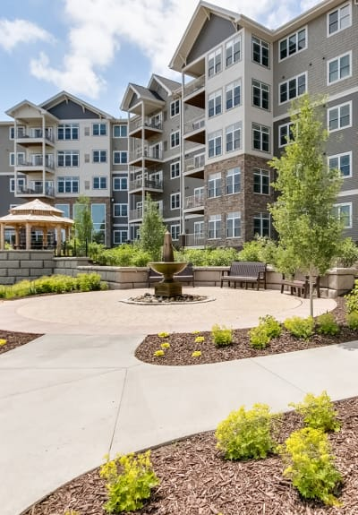 View the Standard Unit Features at Applewood Pointe Champlin at Mississippi Crossings in Champlin, Minnesota.