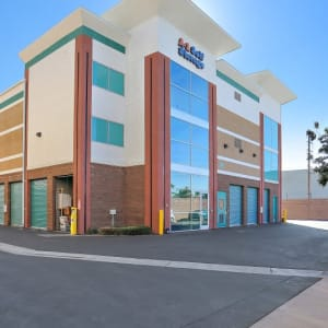 Outside view of Bell Gardens, California at A-1 Self Storage