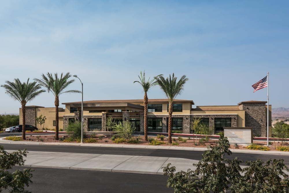Exterior Image at Carnegie Heights at Henderson in Henderson, Nevada
