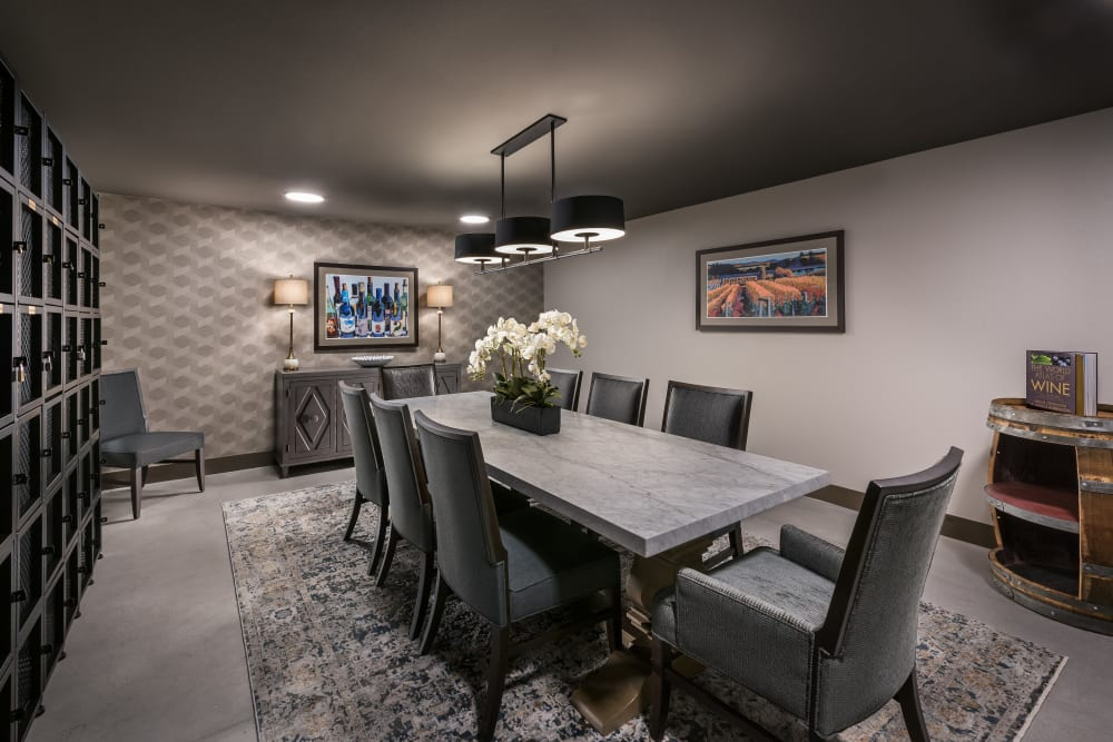 Conference room at Carnegie Heights at Henderson in Henderson, Nevada