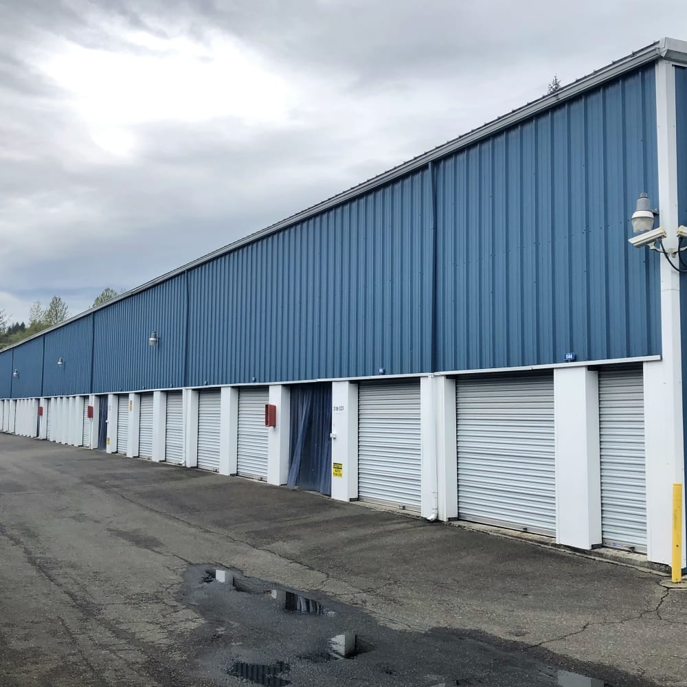 Self storage units for rent at Trojan Storage in Bothell, Washington