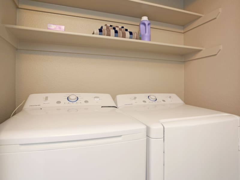 Washer and Dryer at Apartments in Lakewood, Colorado