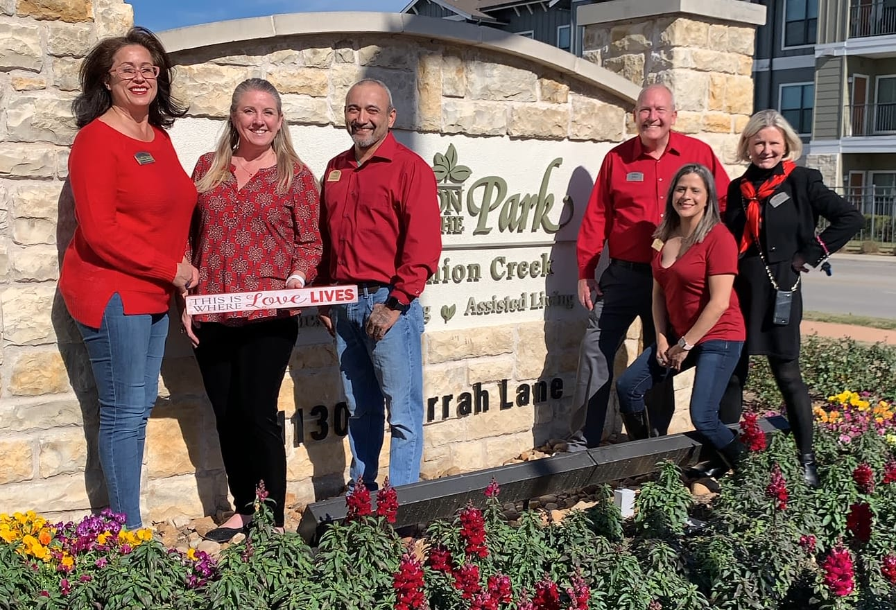 Professional and caring team at Village on the Park Onion Creek in Austin, Texas