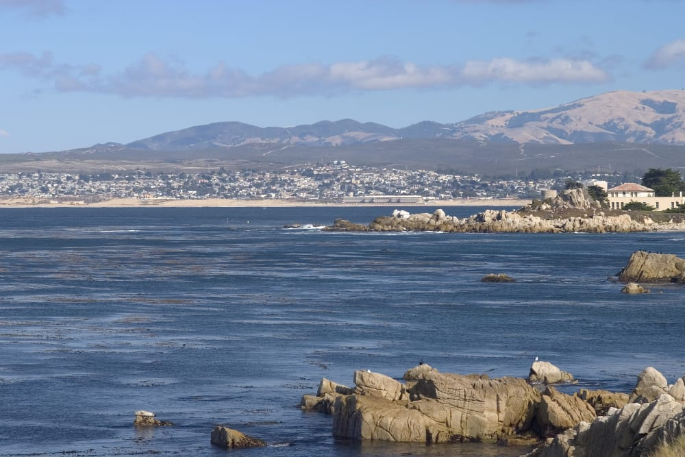 water views near Merrill Gardens at Monterey in Monterey, California